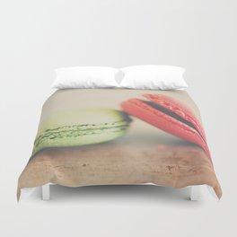 pistachio & strawberry ... Duvet Cover