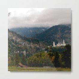 Magic meadow Metal Print
