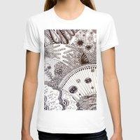 zentangle T-shirts featuring Zentangle by Marisa Toussaint
