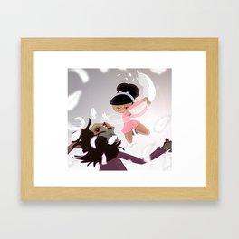 """""""Killing me softly"""" Framed Art Print"""