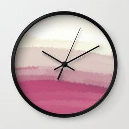 Sea - Line Clolor Pattern V1 Wall Clock
