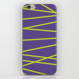 Violet Funk iPhone Skin