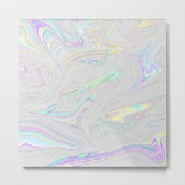 Playing with Fire - Static Pattern Metal Print