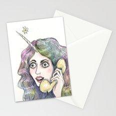 I turned into a UNICORN! Stationery Cards