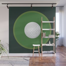 Golf: Bullseye Wall Mural