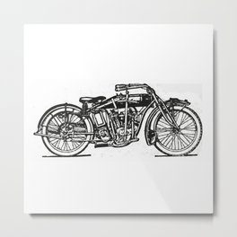 Motorcycle 2 Metal Print