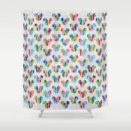"""""""Frosted Mickey Mouse"""" by Ann Marie Coolick Shower Curtain"""