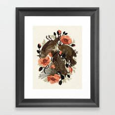 Spangled & Plumed Framed Art Print