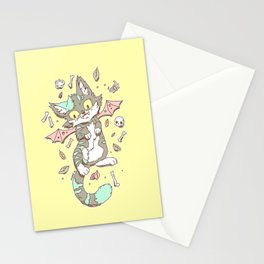 Monster Cat Stationery Cards