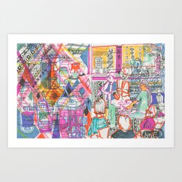 June Vibes Art Print