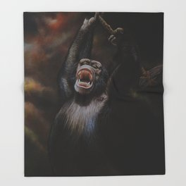 THE MISSING 2 PERCENT Throw Blanket