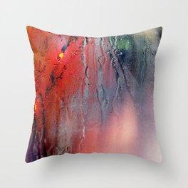 Indistinto Throw Pillow