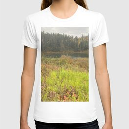 Forest walk by Lake T-shirt