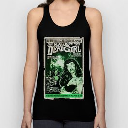 "DEAD GIRL SUPERSTAR ""THE PLAGUE OF THE DEAD GIRL"" Unisex Tank Top"