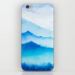 Winter scenery #17 iPhone Skin