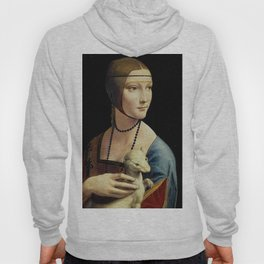 THE LADY WITH AN ERMINE - DA VINCI Hoody