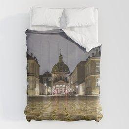 Low Angle shot Comforters