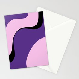 violet ice Stationery Cards