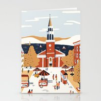 vermont Stationery Cards featuring Burlington, Vermont by Sam Brewster