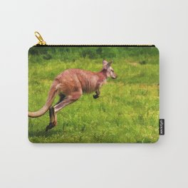 Wild Wallaby - Australian Animal Carry-All Pouch