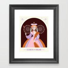 Elizabeth I of England Framed Art Print