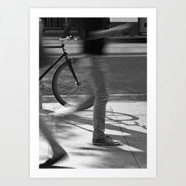 Already Here (William Street, 2012) Art Print