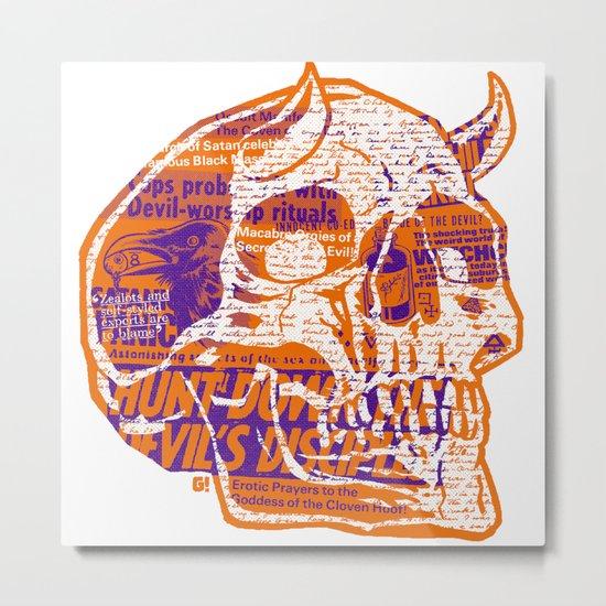 Satanic Panic Metal Print