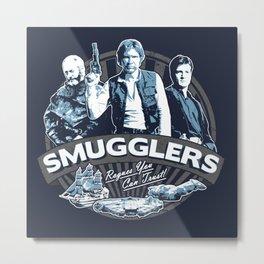 Smugglers Three Metal Print
