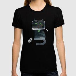 Programmer cat  makes a website T-shirt