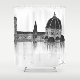 Duomo of Florence Shower Curtain
