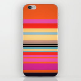 Sunset Stripes iPhone Skin