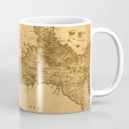 Map Of Panama 1800 Coffee Mug