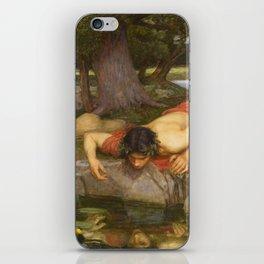 John William Waterhouse - Echo and Narcissus iPhone Skin