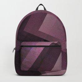 Posh Pink - Digital Geometric Texture Backpack