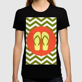 Beach Sandals - Cute Summer Accessories Collection T-shirt