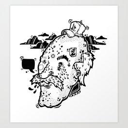 Dr. Funk Art Print