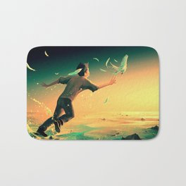 Pursuit of Happiness Bath Mat