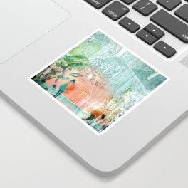 ArchiCollage - Secret Garden Sticker