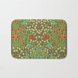 Green Garden Bath Mat