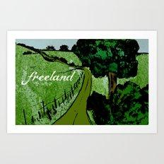 Freeland Art Print