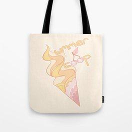 Summer Scoop - Peach Flavored Tote Bag