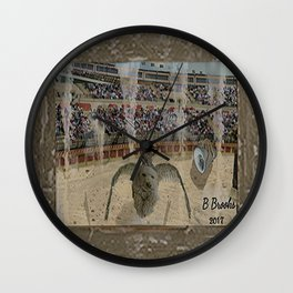 The Arena Race Wall Clock