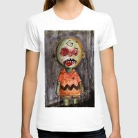 charlie brown T-shirts featuring You're a zombie Charlie Brown by byron rempel