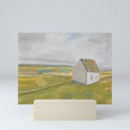 The Green of Home Mini Art Print