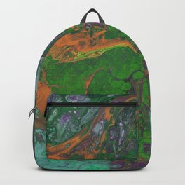 Renaissance OrangeGreen Backpack