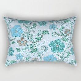 Dotty mosaic pattern Rectangular Pillow