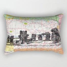 Nebraska Rectangular Pillow