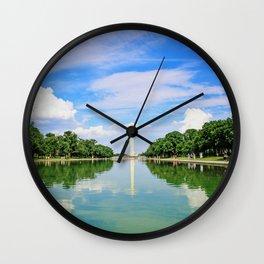 Washington Memorial Wall Clock