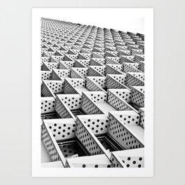 Domino Horizon Art Print