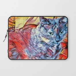 The TORTIE from our FUNK YOUR FELINE line Laptop Sleeve
